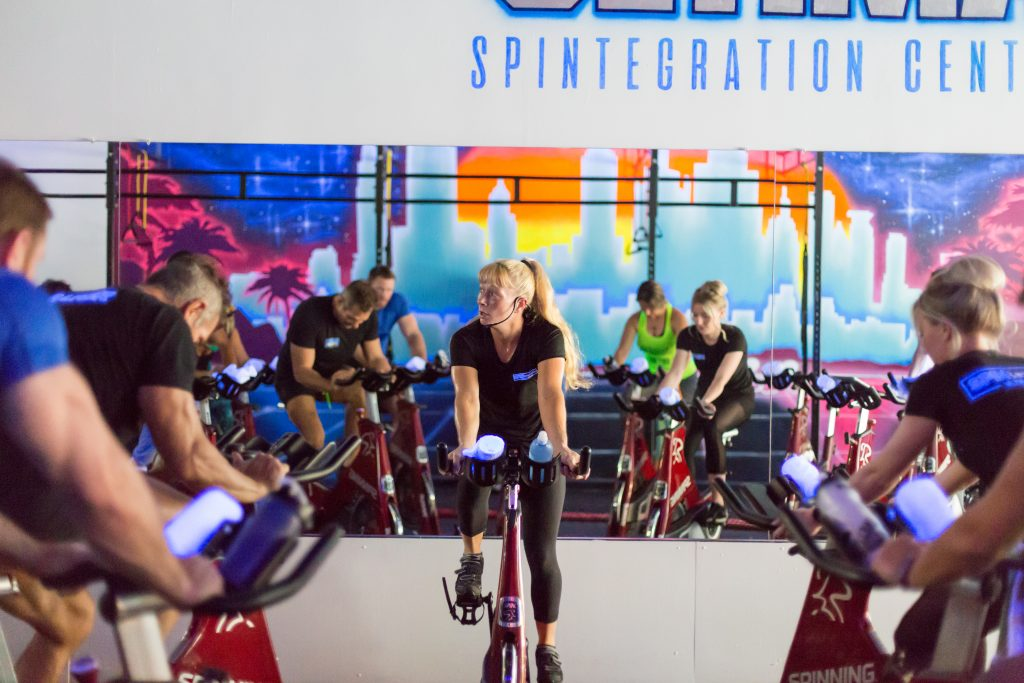 Who offers spin classes near me?
